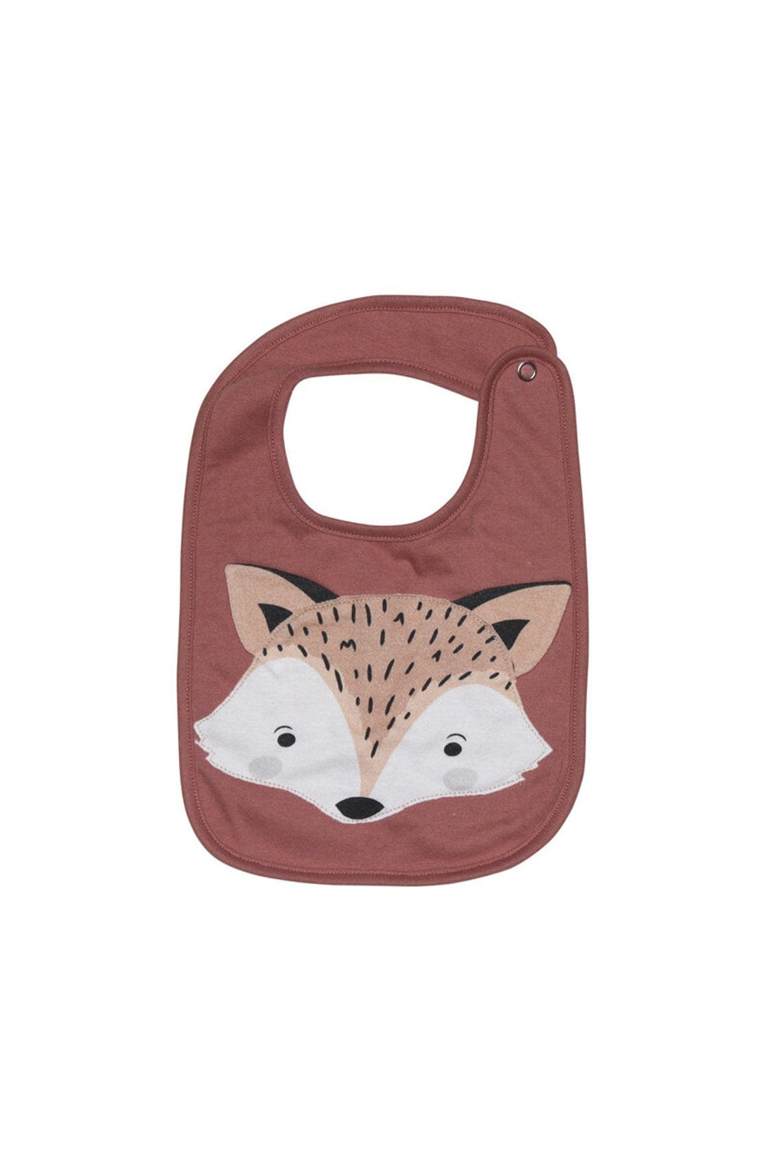 Mister Fly Fox Face Bib - Hello Little Birdie