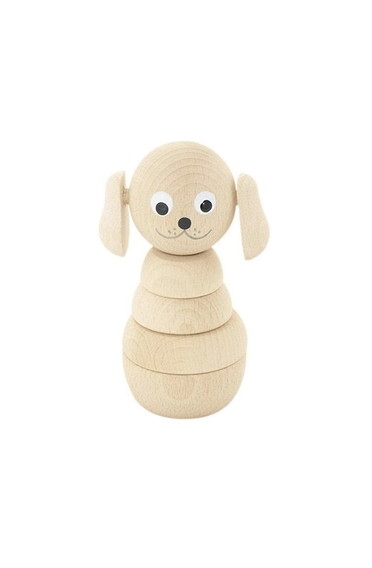 Miva Vacov Wooden Stacking Puzzle Dog, Blair - Hello Little Birdie