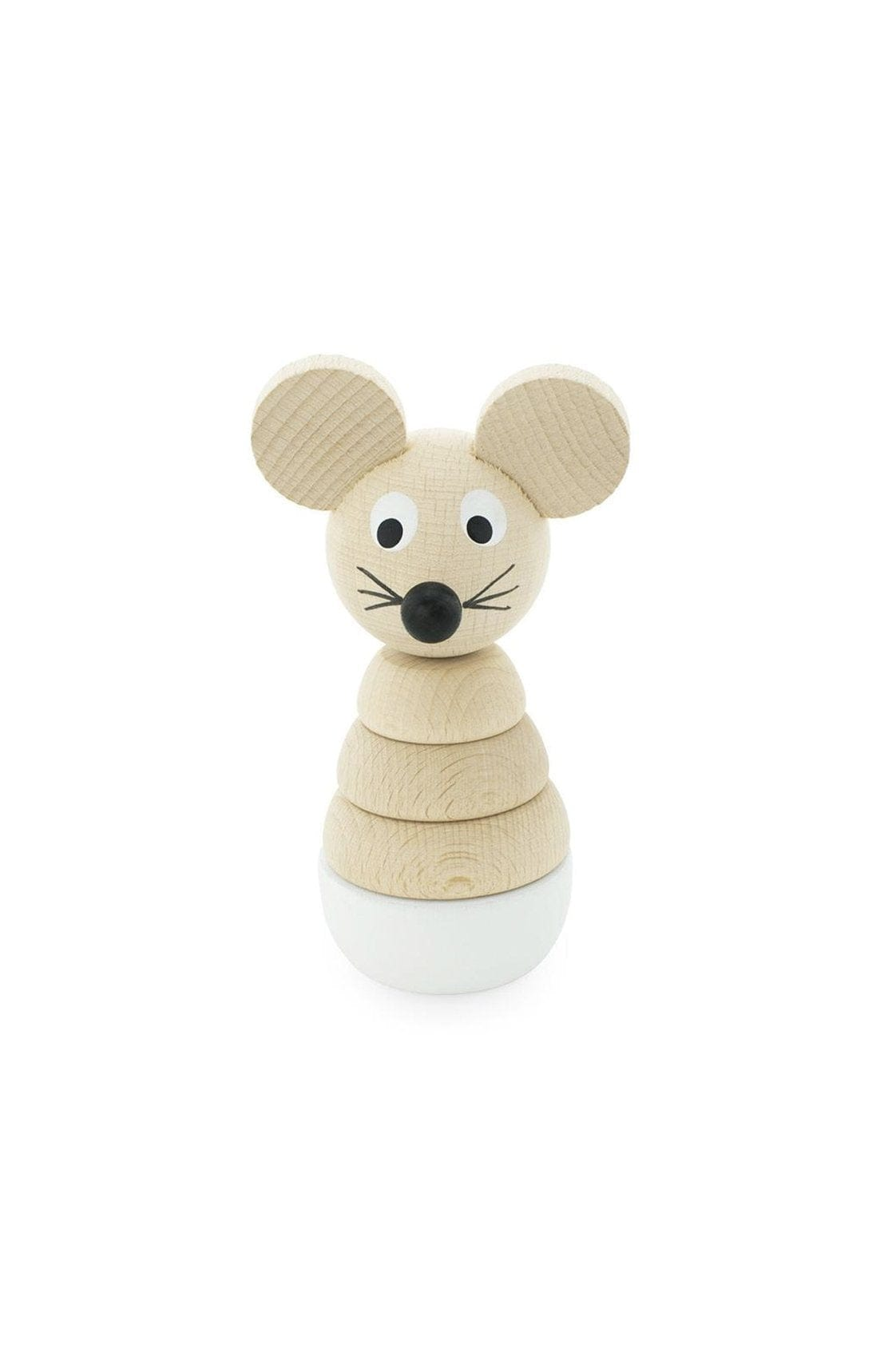 Miva Vacov Wooden Mouse Stacking Puzzle, Hobbs