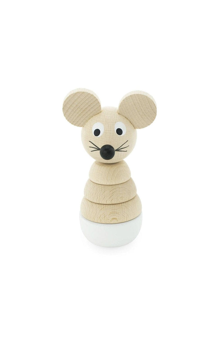 Miva Vacov Wooden Mouse Stacking Puzzle, Hobbs - Hello Little Birdie