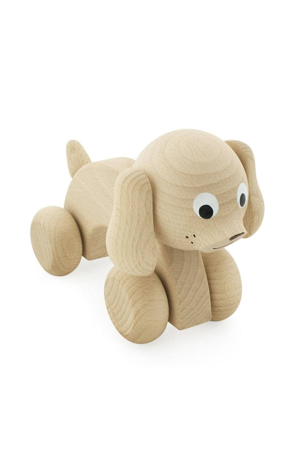Miva Vacov Wooden Push Along, Dog