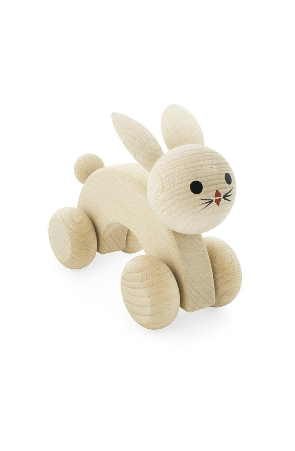 Miva Vacov Wooden Push Along, Rabbit