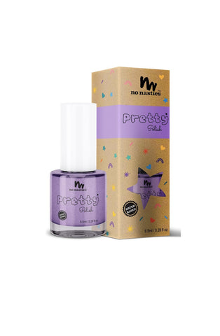 No Nasties, Purple WATER-BASED, PEELABLE NAIL POLISH FOR KIDS