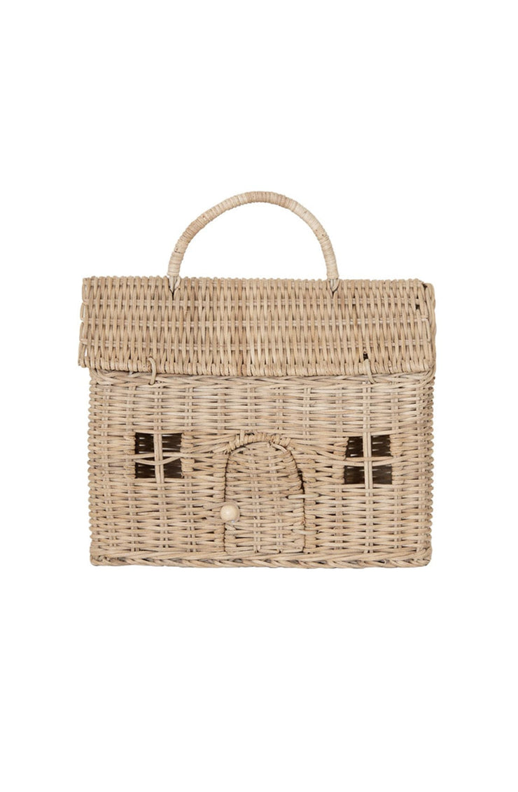 Olli Ella Casa Clutch, Straw - Hello Little Birdie