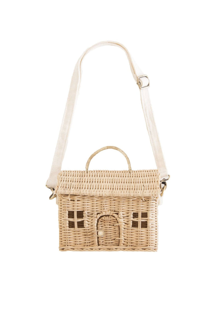 Olli Ella Casa Bag, Straw - Hello Little Birdie