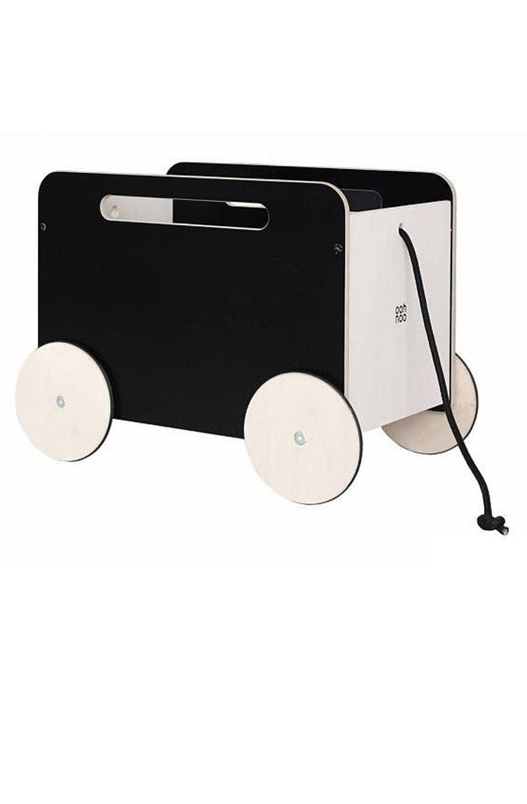 Ooh Noo Storage Toy Box on Wheels, Blackboard - Hello Little Birdie