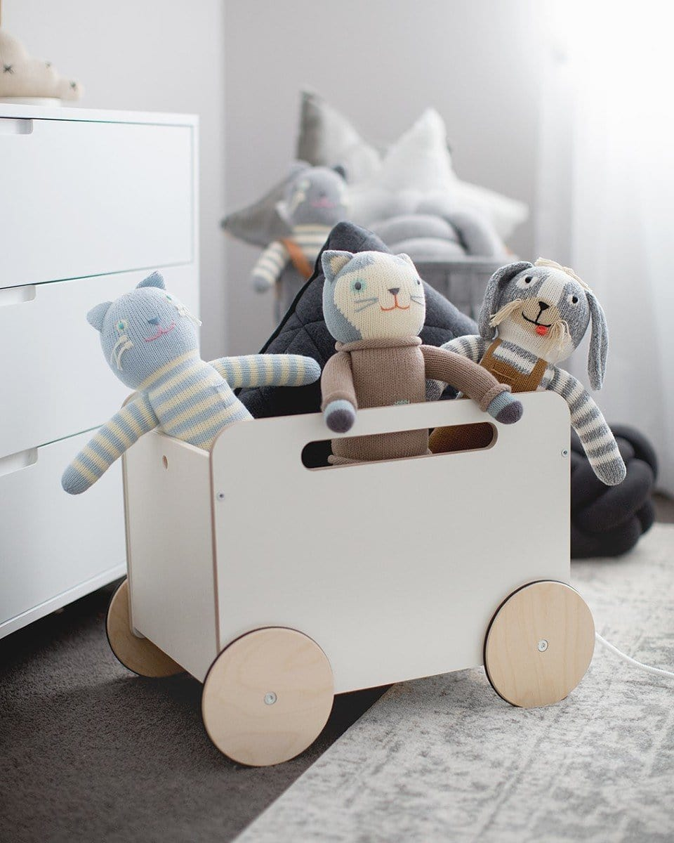 Ooh Noo Storage Toy Box on Wheels - Hello Little Birdie