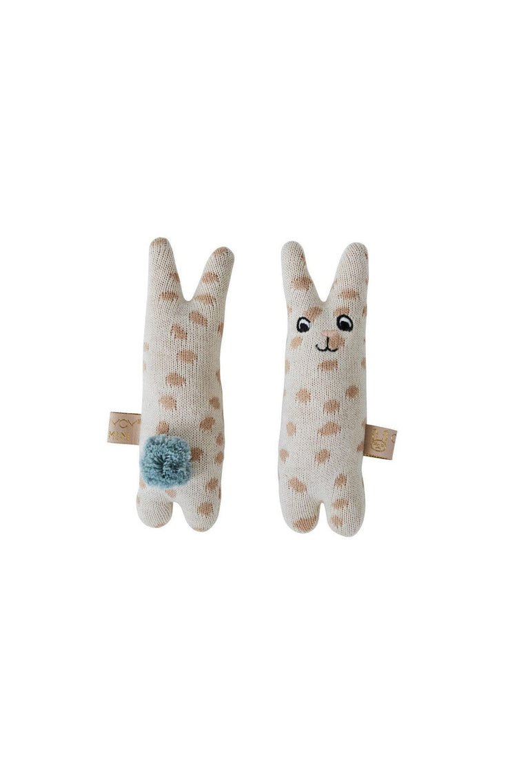 OYOY Baby Rattle Rabbit Nude - Hello Little Birdie