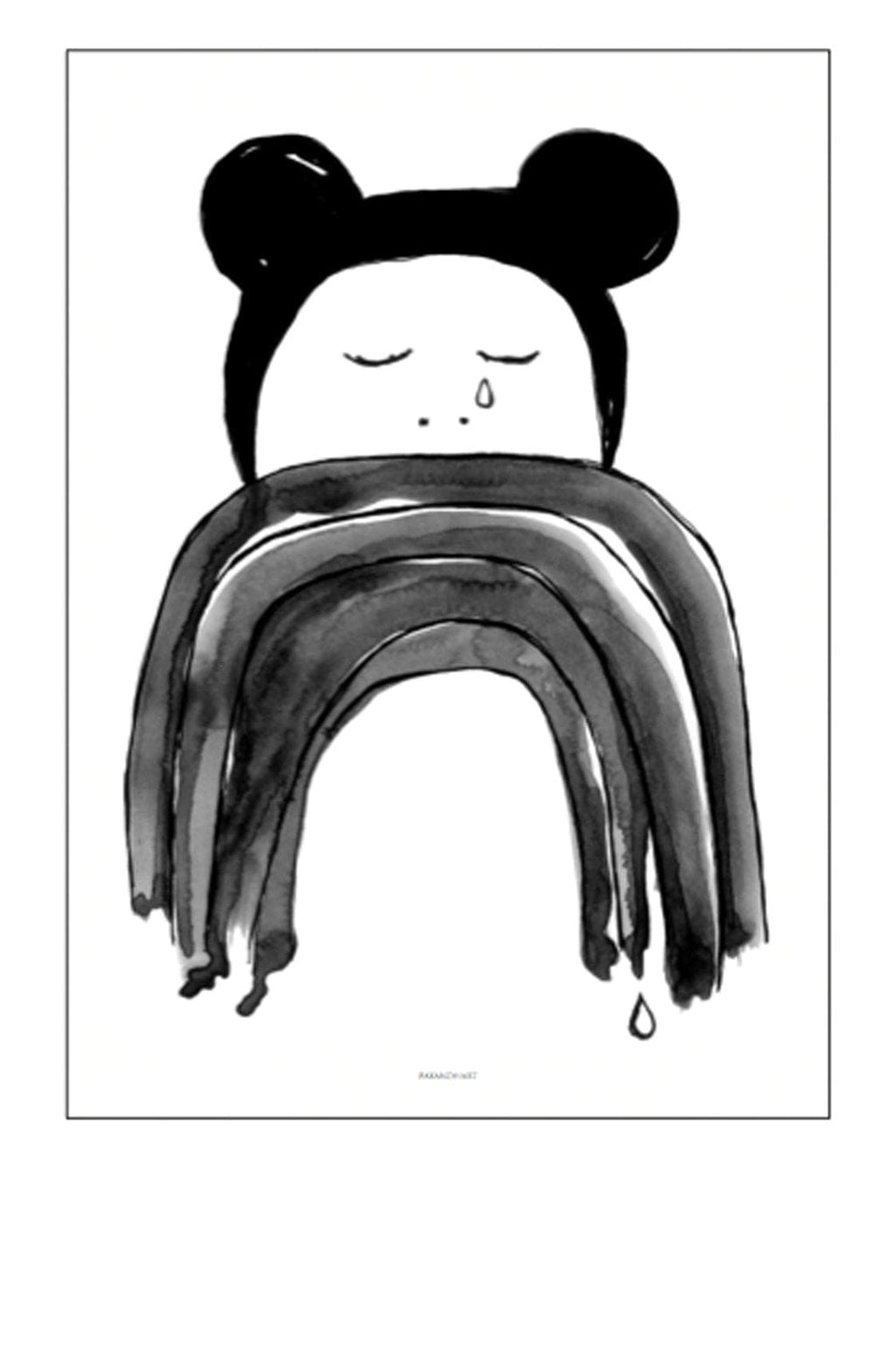 CRYING MINNI PRINT, 50 x 70CM - Hello Little Birdie