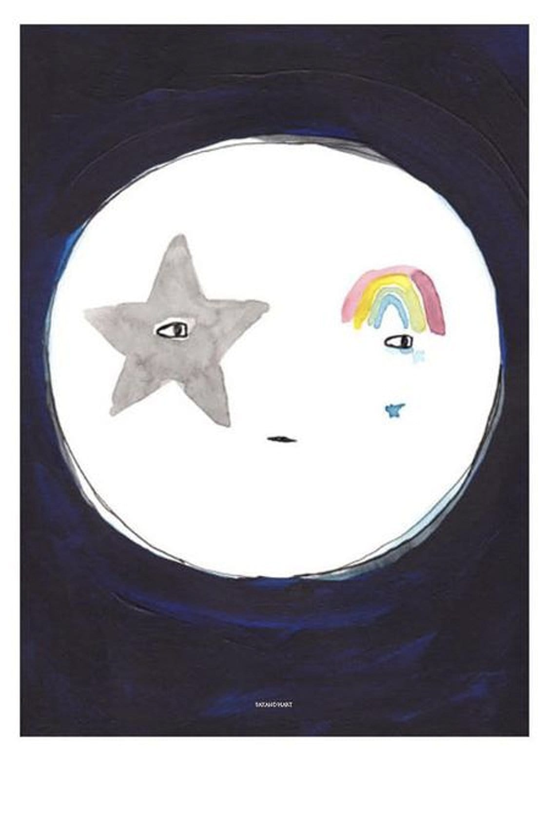 PAX AND HART SUNDAY SLEEP TIGHT POSTER, 50 x 70CM - Hello Little Birdie