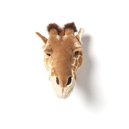 Wild and Soft Plush Wall Head Ruby the Giraffe - Hello Little Birdie