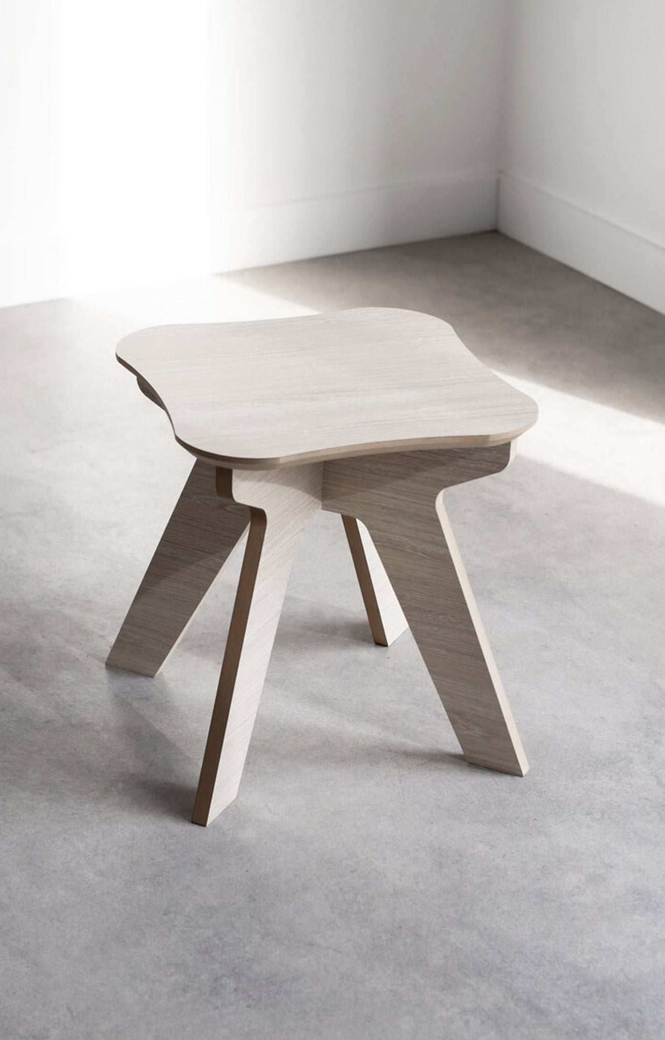 The Junior Stool - Oak - Hello Little Birdie