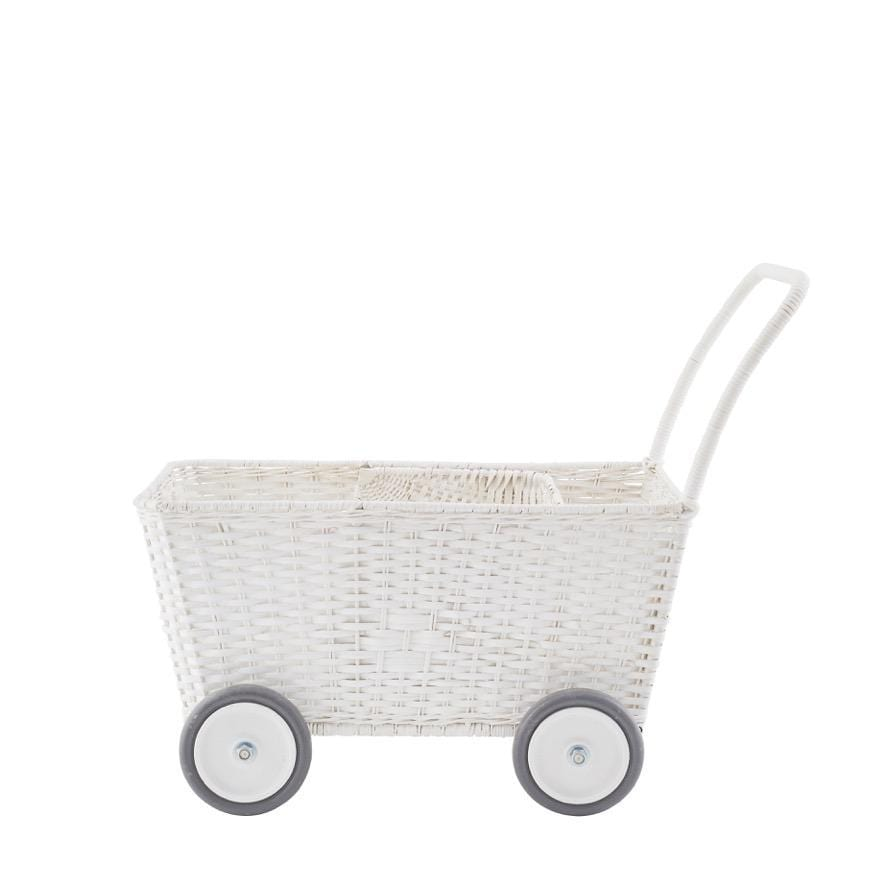 Olli Ella Strolley, Pram, White - Hello Little Birdie