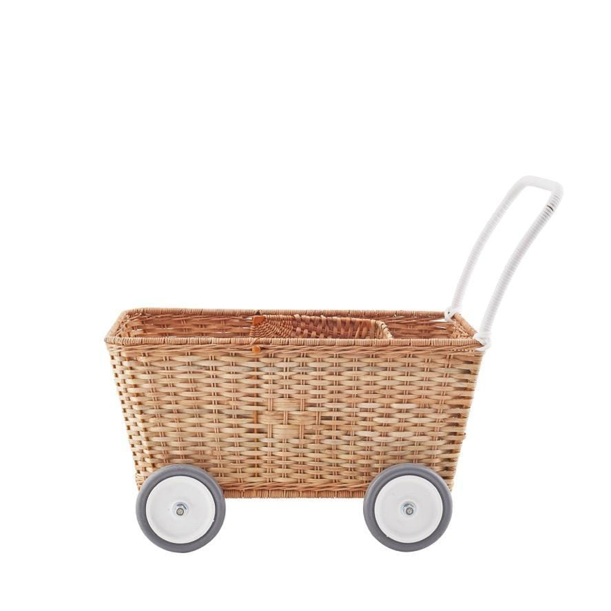 Olli Ella Strolley, Pram, Natural (PRE-ORDER OCT)