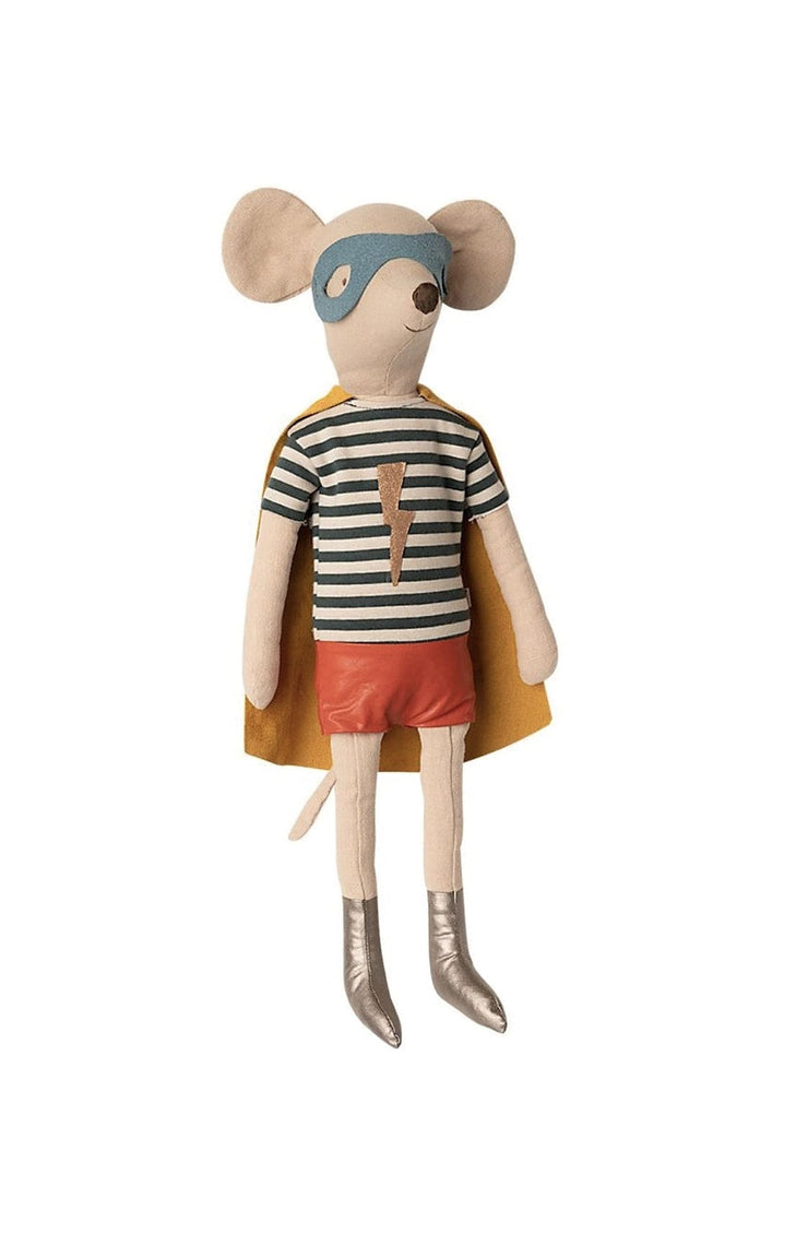 Maileg Superhero Mouse Boy Maxi 50cm  (PRE-ORDER END OCT) - Hello Little Birdie