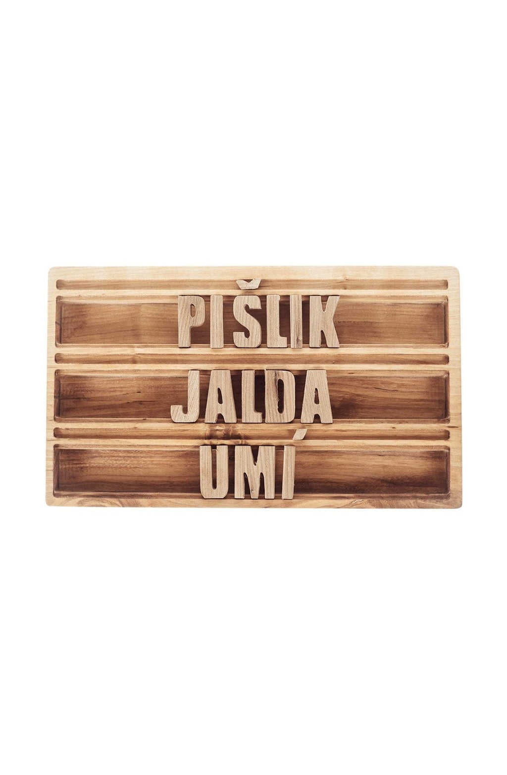 Pislik Wooden Letter Board (Pre-Order April) - Hello Little Birdie