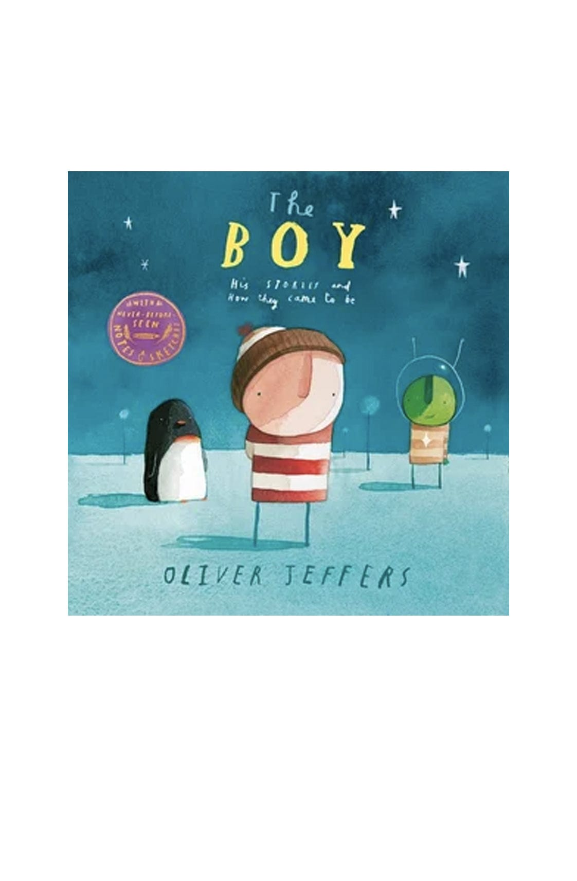 The Boy His Stories and How They Came to Be - Hello Little Birdie