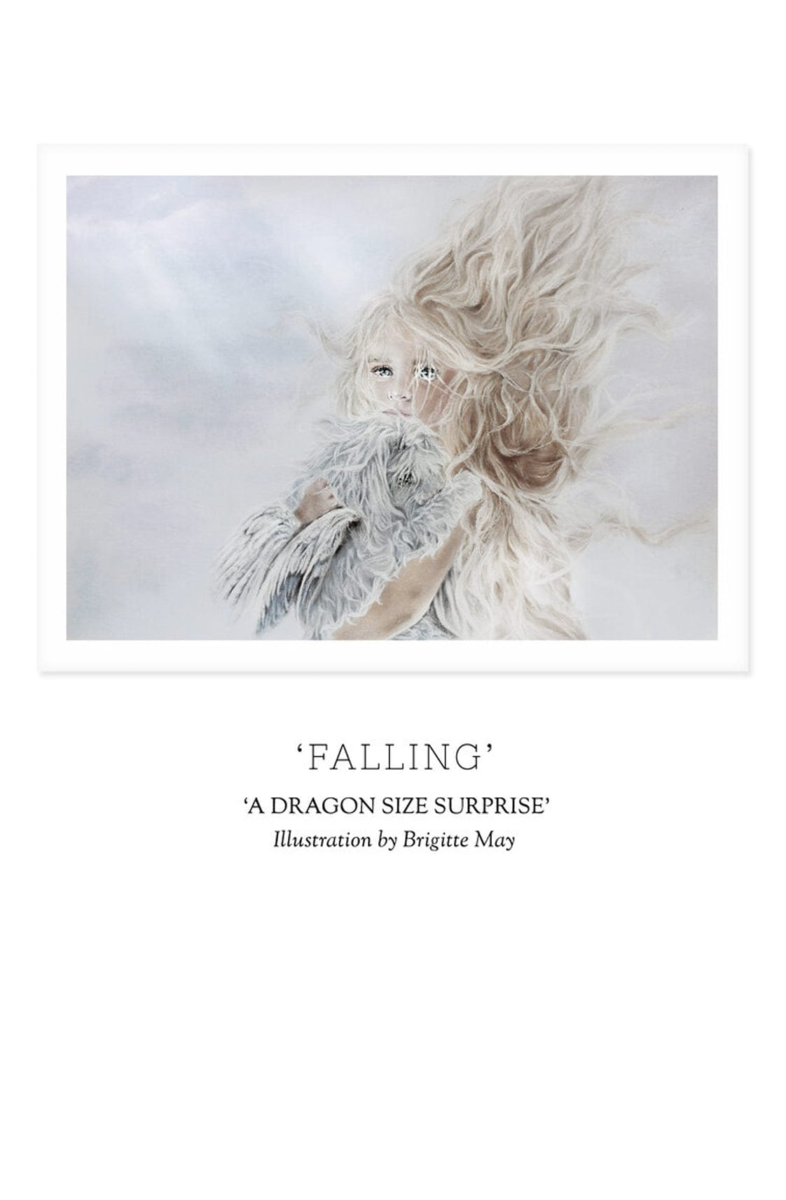 Unclebearskin Productions, A DRAGON SIZE SURPRISE 'FALLING' Print - Hello Little Birdie