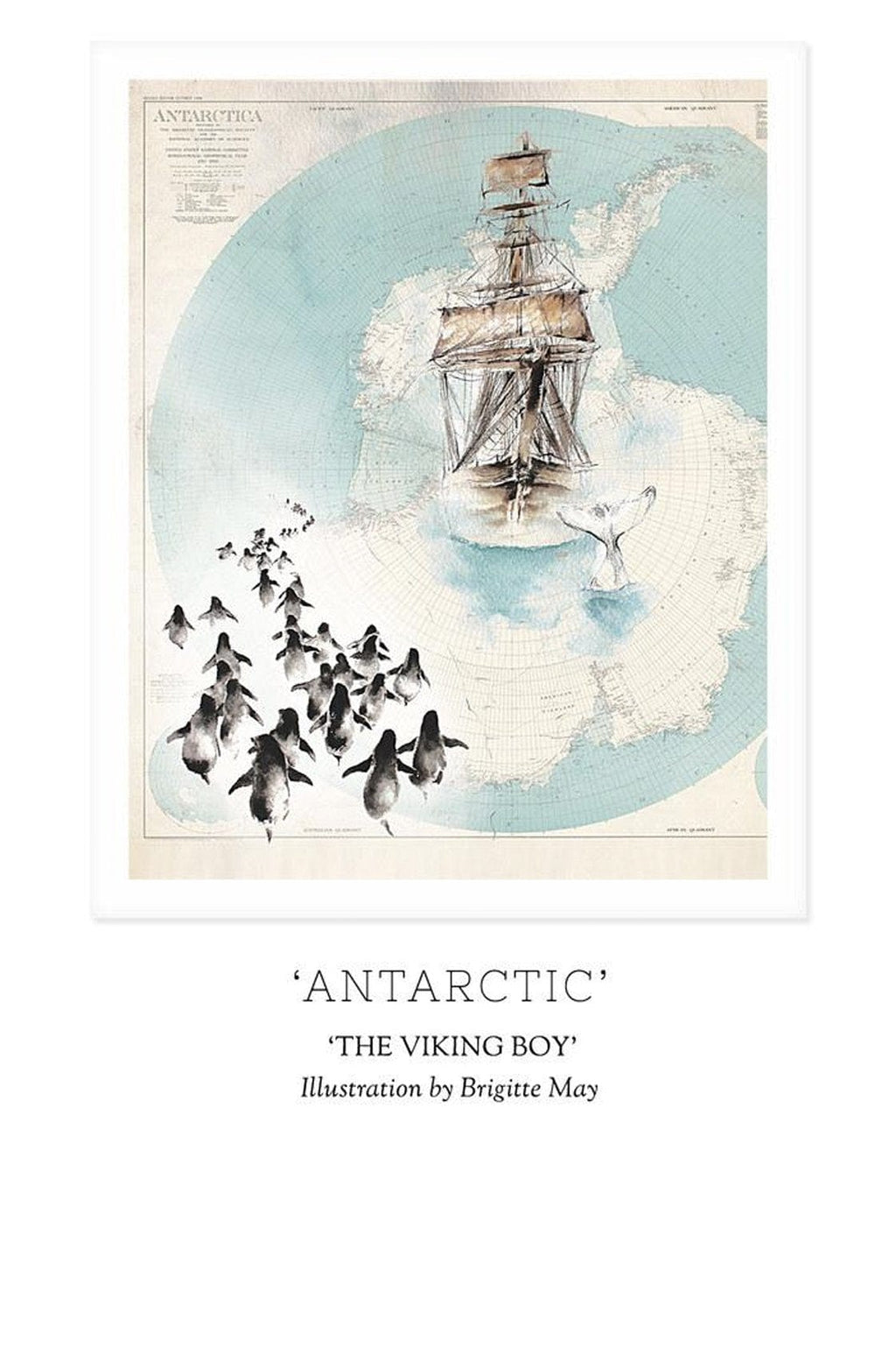 THE VIKING BOY - 'ANTARCTIC' Print