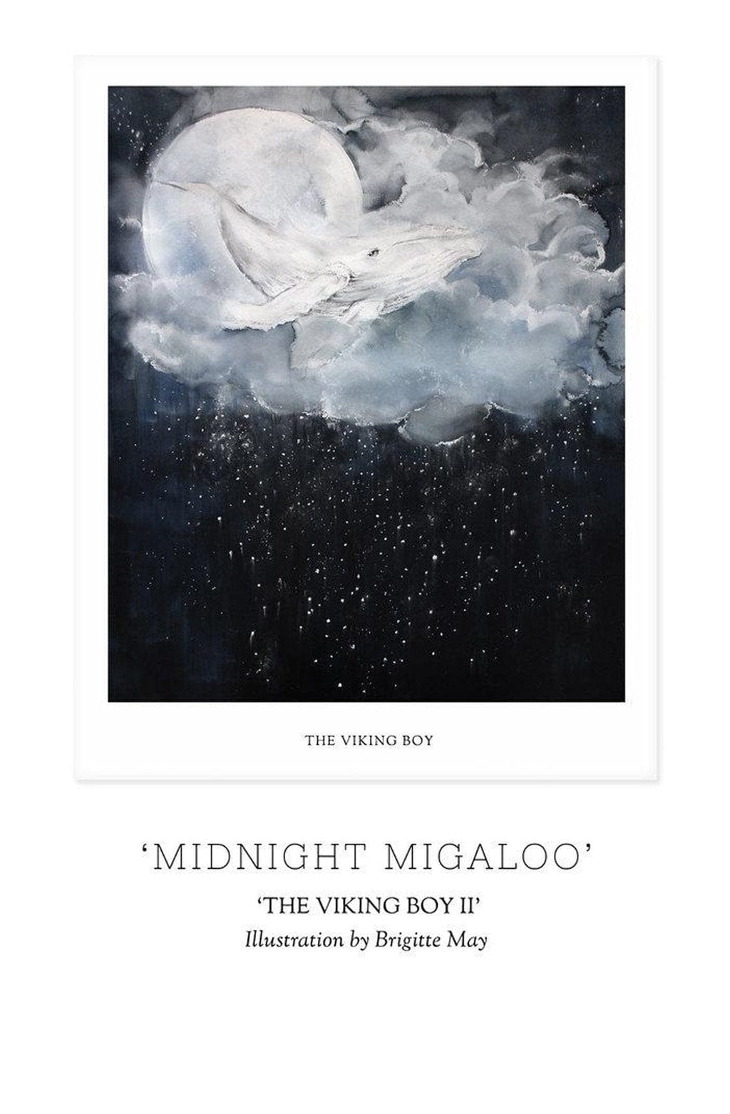Unclebearskin Productions, THE VIKING BOY, CHAPTER II - 'MOONLIGHT MIGALOO' Print - Hello Little Birdie