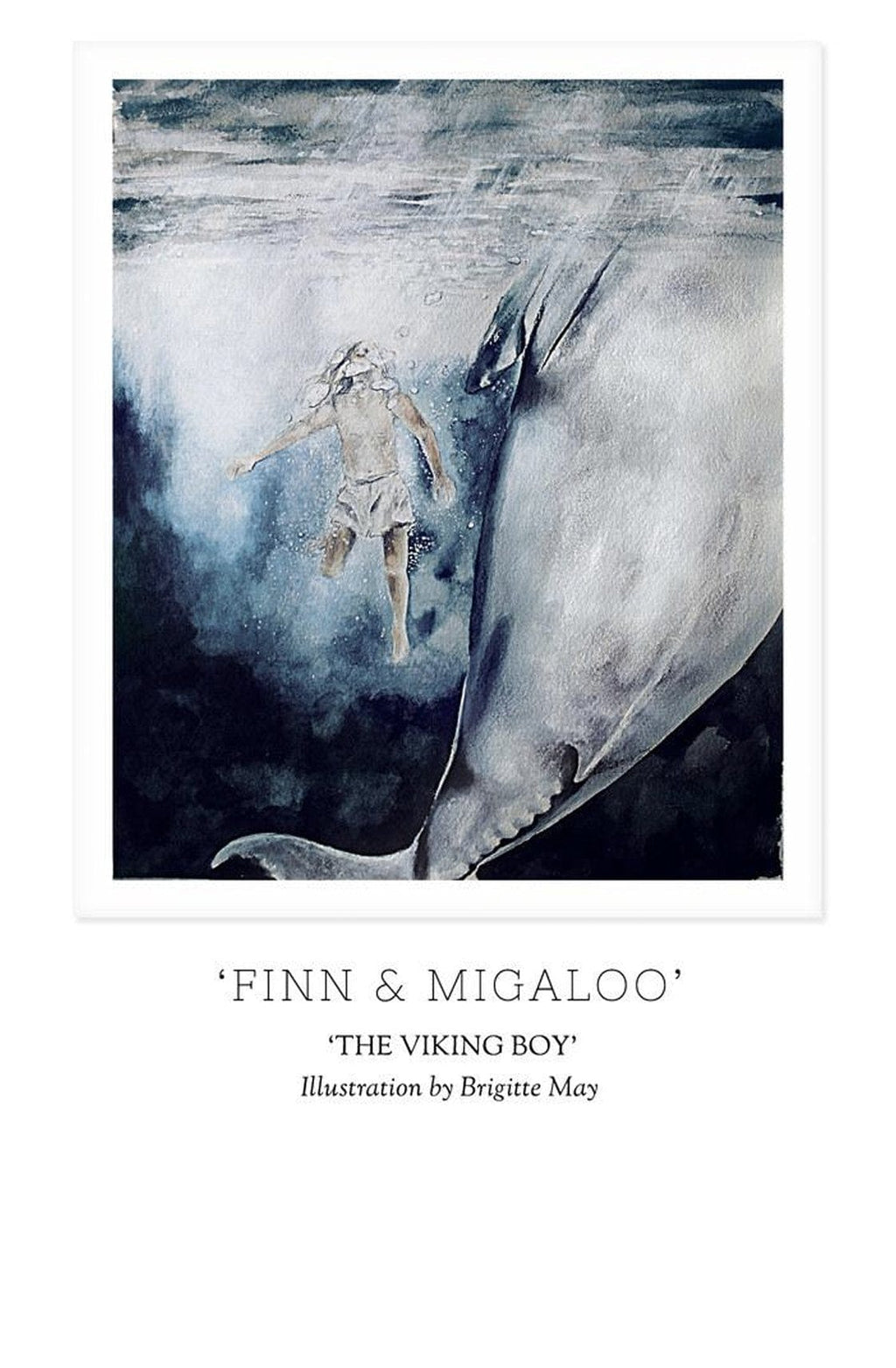 THE VIKING BOY - 'FINN & MIGALOO' Print