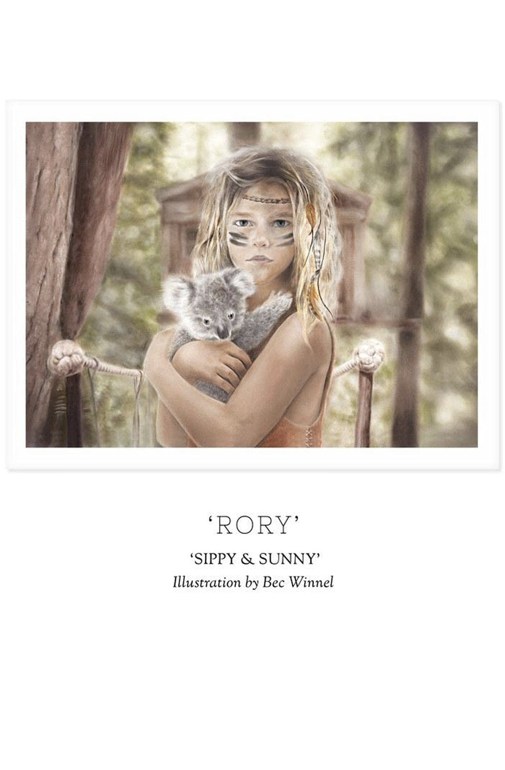 Unclebearskin Productions, SIPPY & SUNNY - 'RORY' Print - Hello Little Birdie