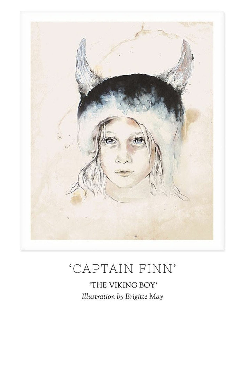 Unclebearskin Productions, THE VIKING BOY - 'CAPTAIN FINN' Print - Hello Little Birdie