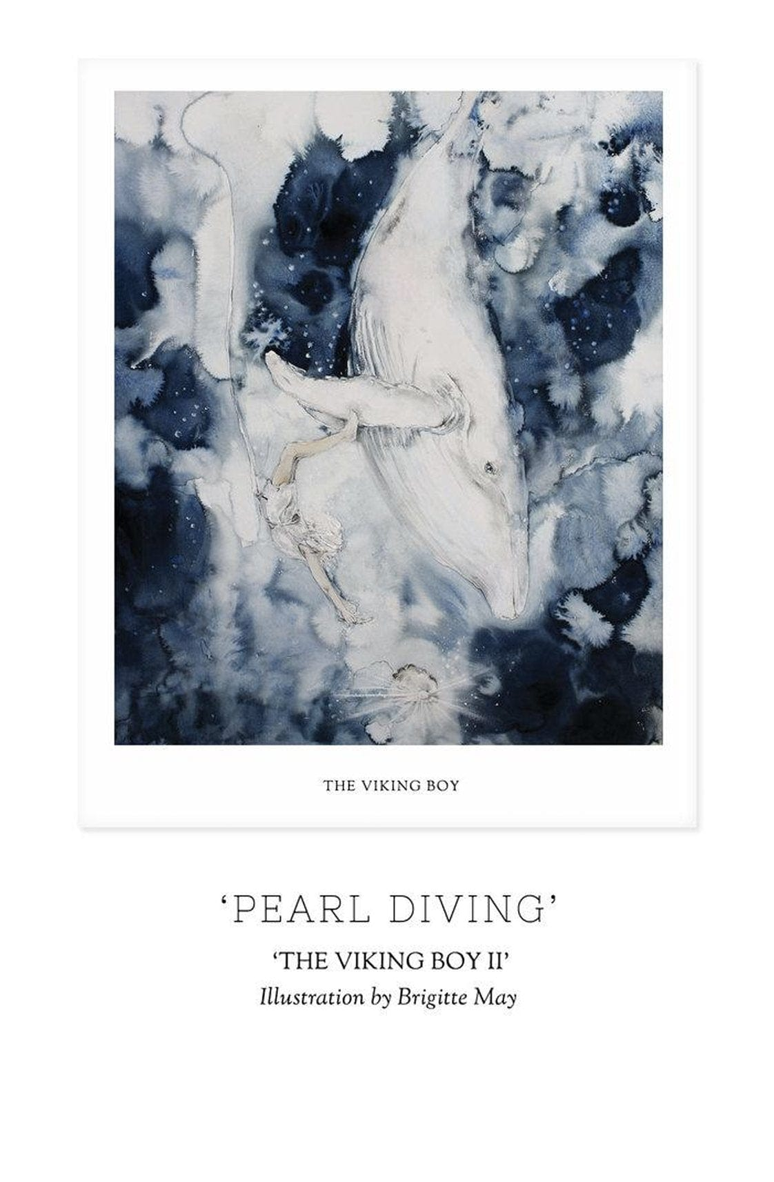 Unclebearskin Productions, THE VIKING BOY, CHAPTER II - 'PEARL DIVING' Print - Hello Little Birdie