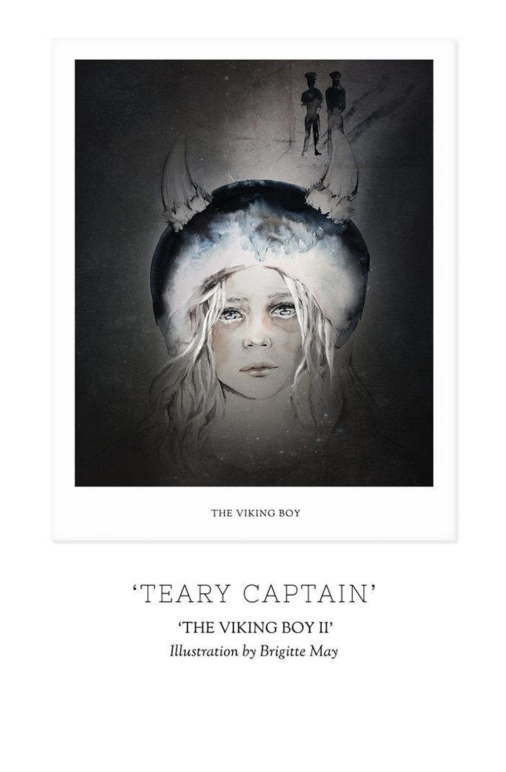 THE VIKING BOY, CHAPTER II - 'TEARY CAPTAIN' Print