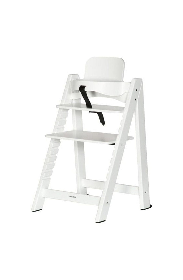 Kidsmill Up! Highchair + Baby Set, White - Hello Little Birdie
