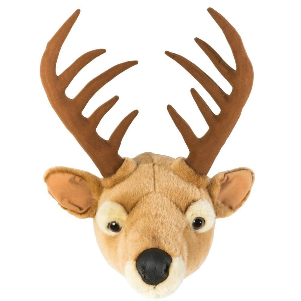 Wild and Soft Plush Wall Head Billy the Deer