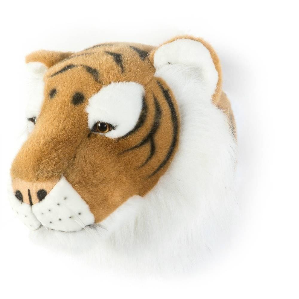 Wild and Soft Plush Wall Head Felix the Tiger - Hello Little Birdie