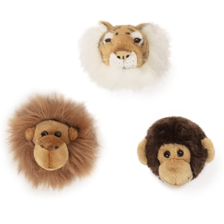 Wild and Soft Jungle Box, Mini Tiger, Monkey & Orang-Utan - Hello Little Birdie