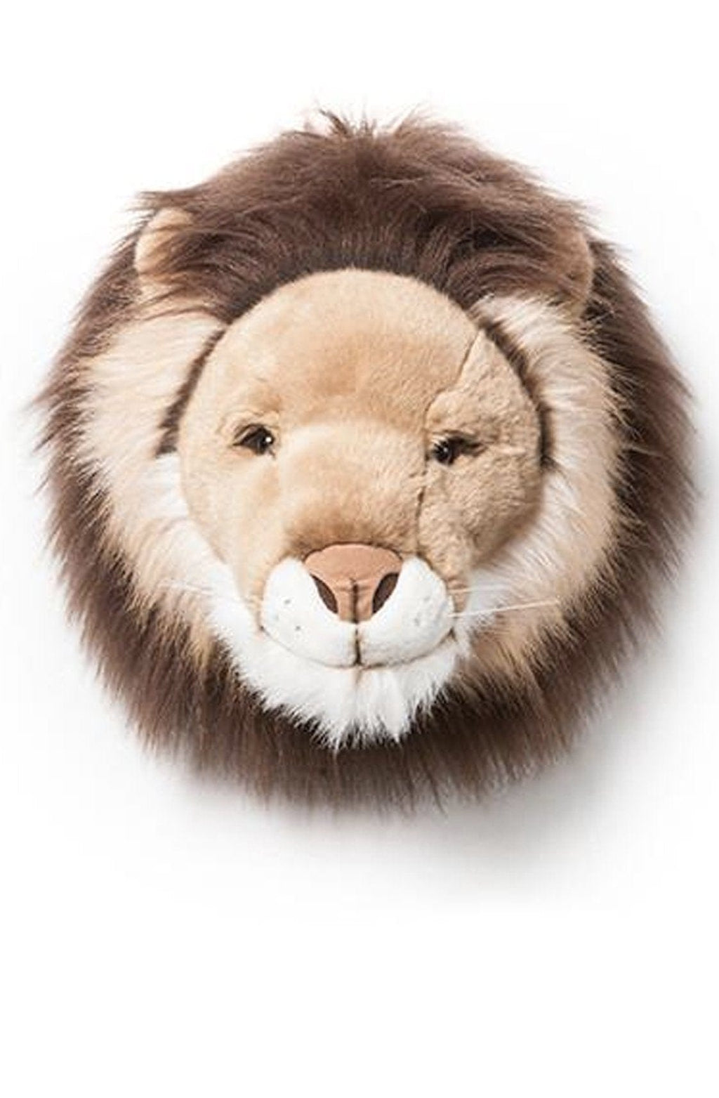 Wild and Soft Plush Wall Head Cesar the Lion (PRE-ORDER FEB) - Hello Little Birdie