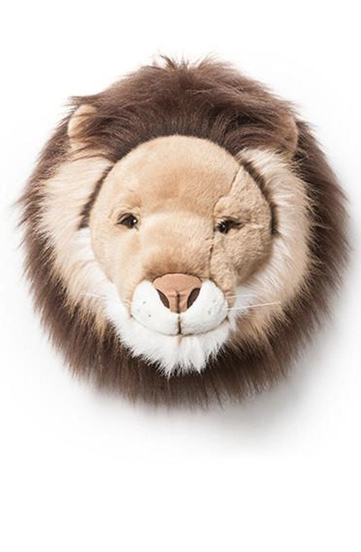 Wild and Soft Plush Wall Head Cesar the Lion - Hello Little Birdie