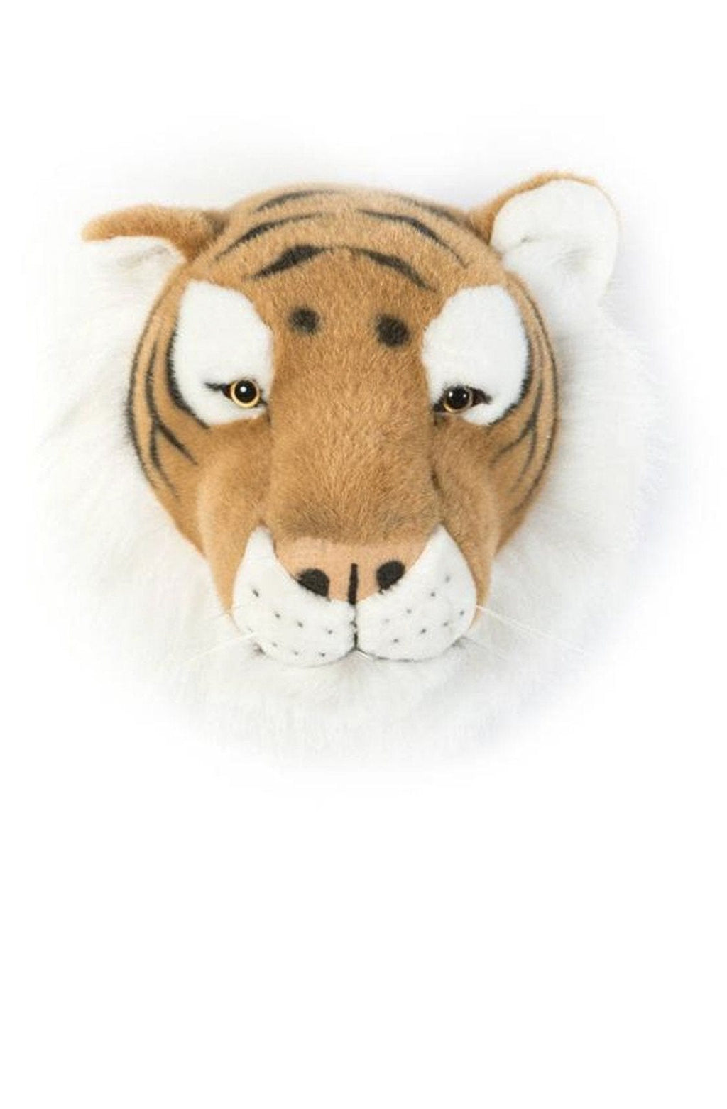 Wild and Soft Plush Wall Head Felix the Tiger (PRE-ORDER FEB) - Hello Little Birdie