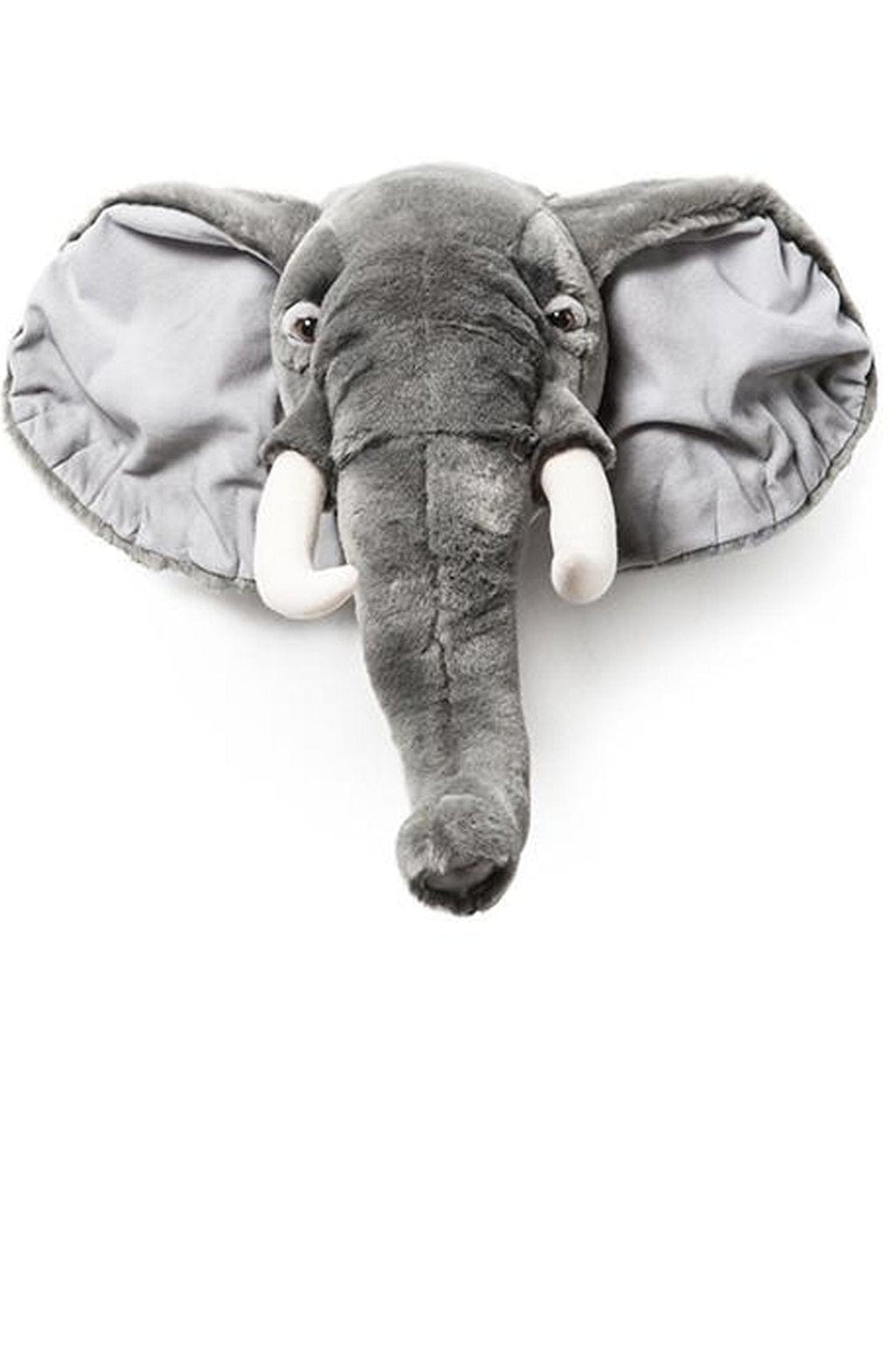 Wild and Soft Plush Wall Head George the Elephant (PRE-ORDER APRIL)