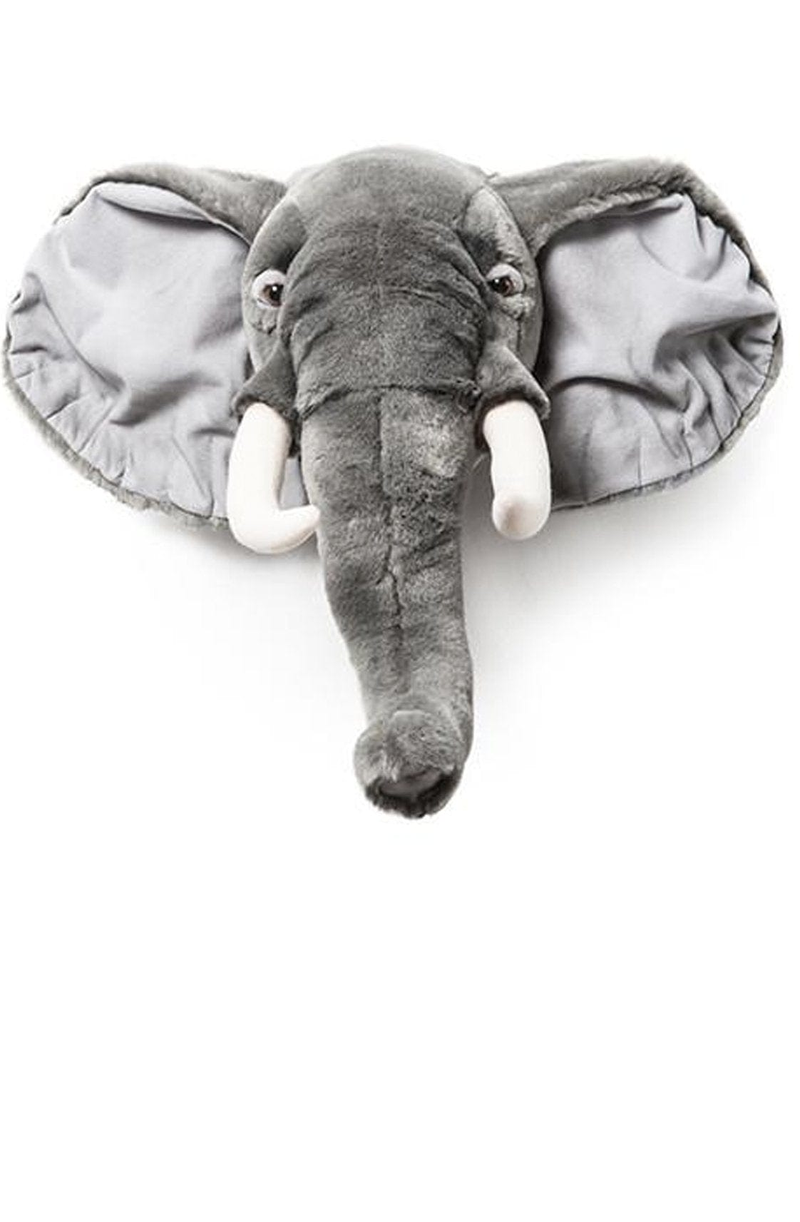 Wild and Soft Plush Wall Head George the Elephant - Hello Little Birdie