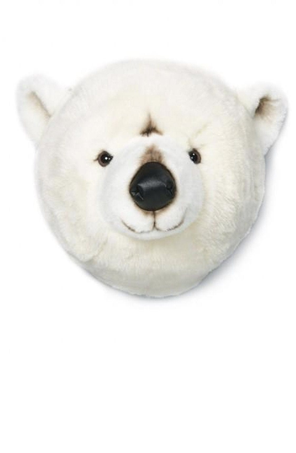Wild and Soft Plush Wall Head Basile Polar Bear - Hello Little Birdie