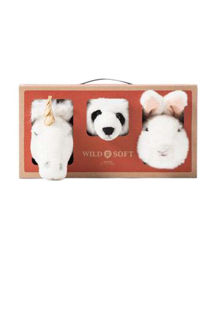Wild and Soft Lovely Box, Mini Unicorn, Panda & Rabbit - Hello Little Birdie