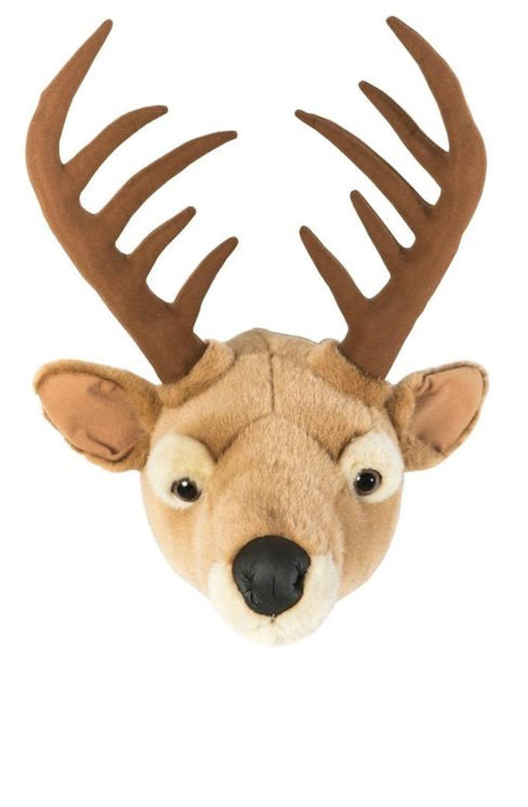 Wild and Soft Plush Wall Head Billy the Deer - Hello Little Birdie