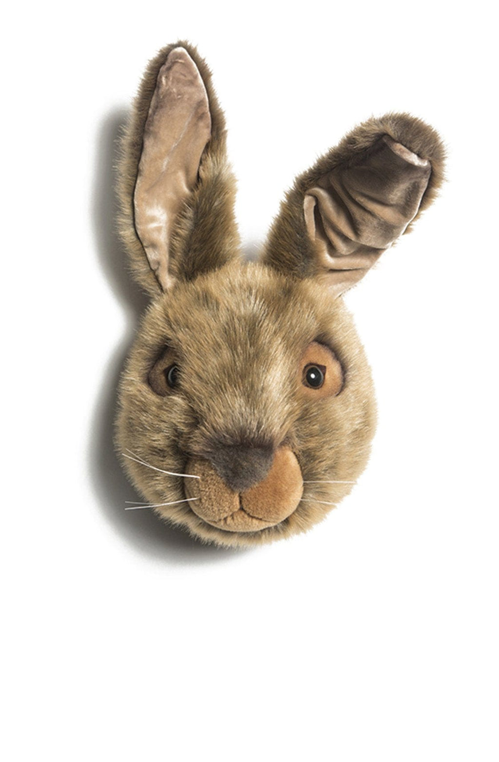 Wild and Soft Plush Wall Head Lewis the Hare - Hello Little Birdie