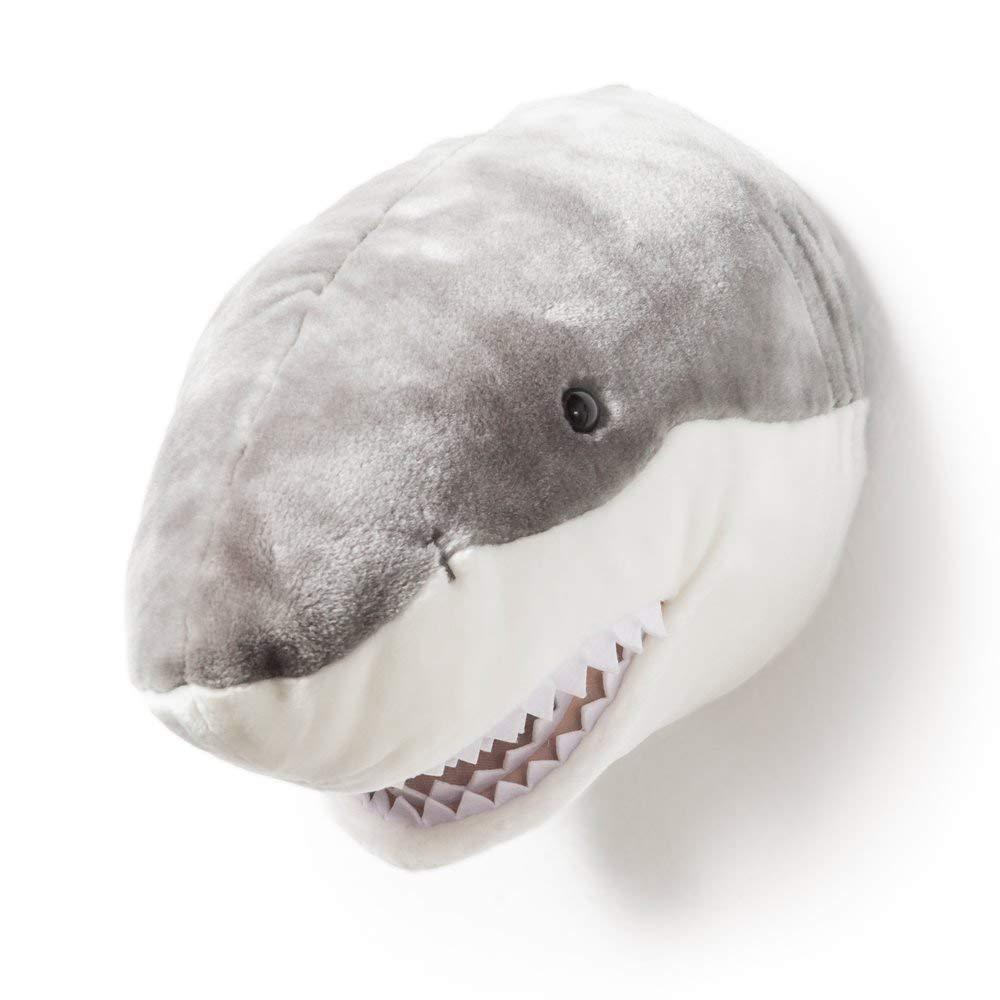 Wild and Soft Plush Wall Head Jack the Shark - Hello Little Birdie