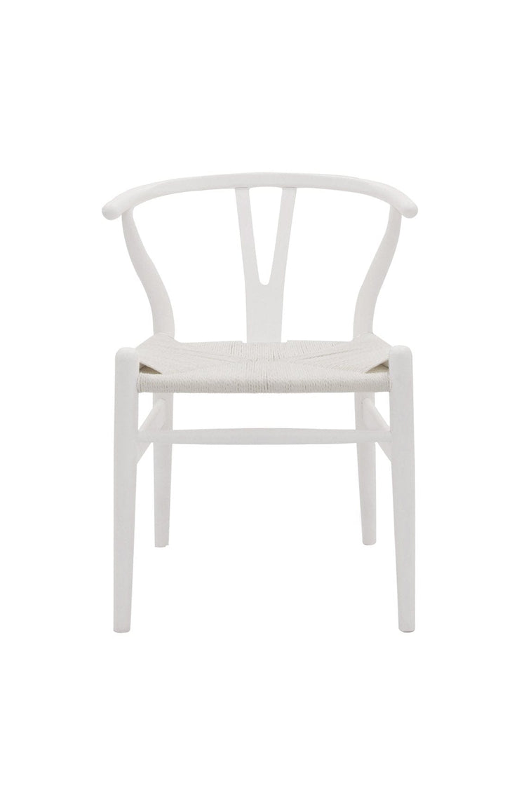 Wishbone Chair White / White (PRE-ORDER NOV) - Hello Little Birdie