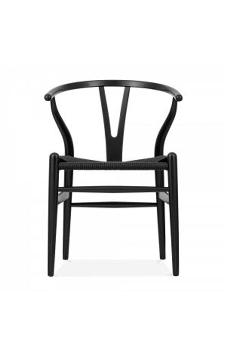 Wishbone Chair Black / Black (PRE-ORDER OCT) - Hello Little Birdie