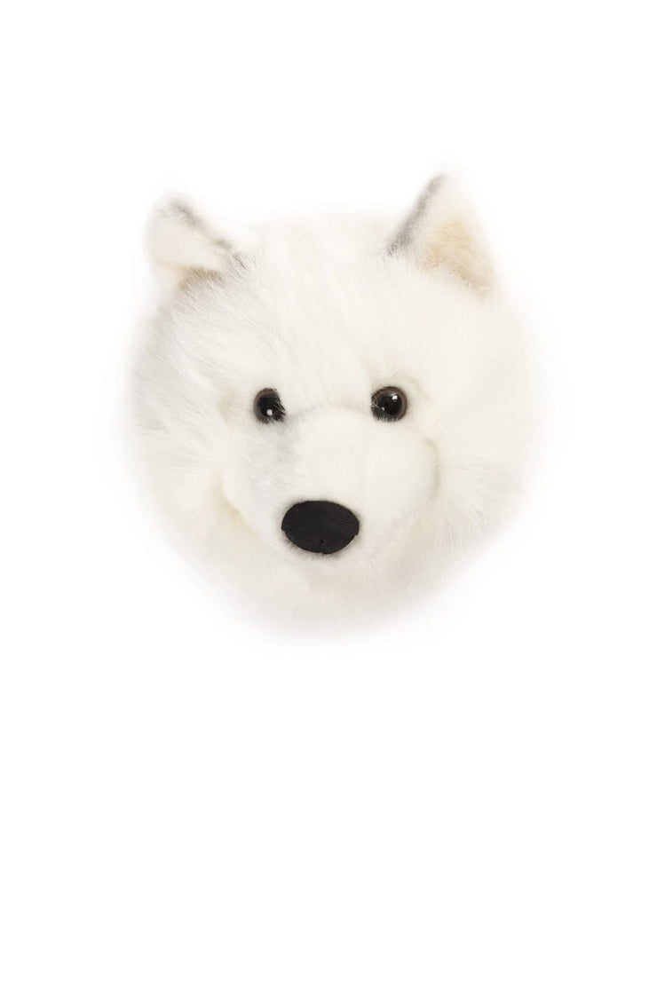 WILD & SOFT PLUSH ANIMAL HEAD LUCY THE WOLF - Hello Little Birdie