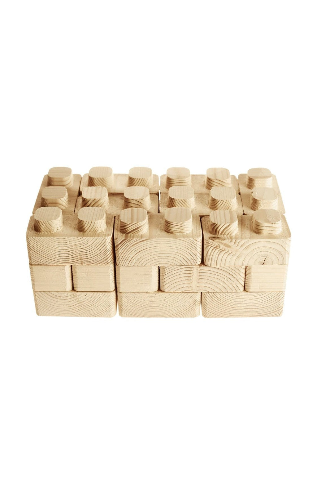 Pislik Wooden Connecting Blocks (Pre-Order April) - Hello Little Birdie