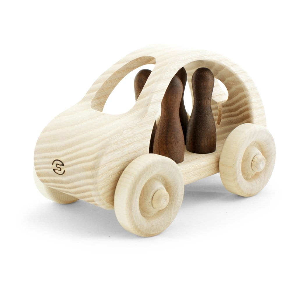 Pislik Toys Wooden Toy Car, Large