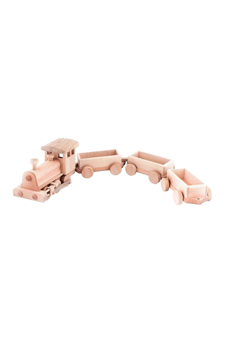 Jasio Large Wooden Train Set, Clementine - Hello Little Birdie