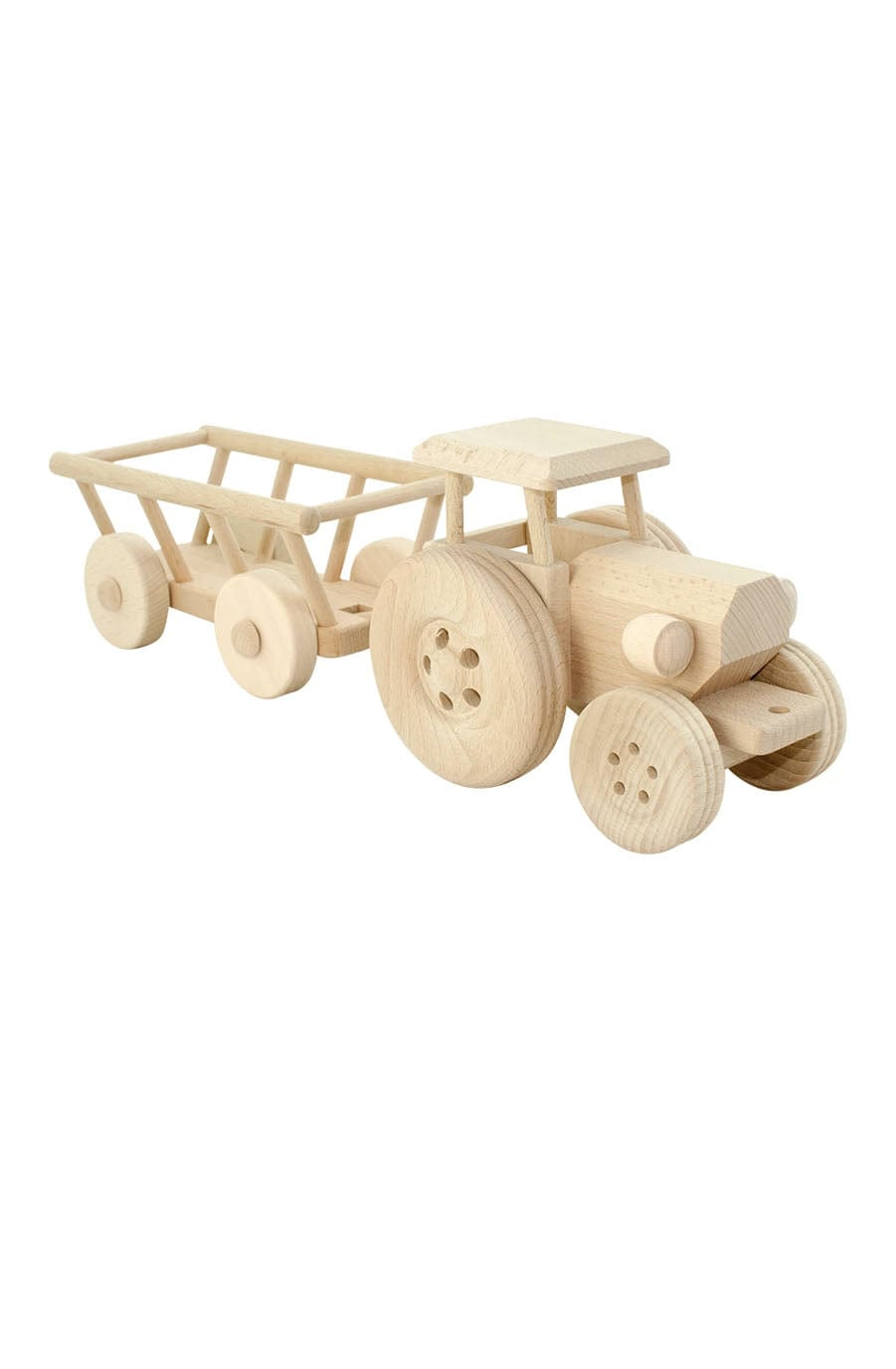Jasio Large Wooden Tractor, Miles - Hello Little Birdie